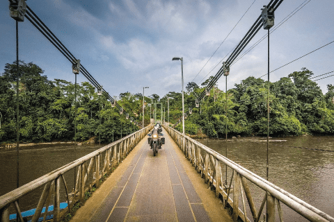 Bridge over Napo River