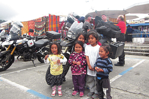 Kids at Otavalo Market