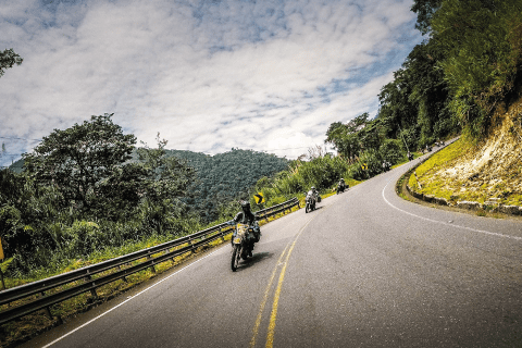 Riding out of the Amazon Basin
