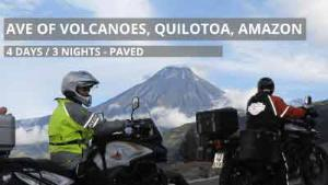 Self-Guided  Ave Volcanoes, Quilotoa Loop & Amazon Basin