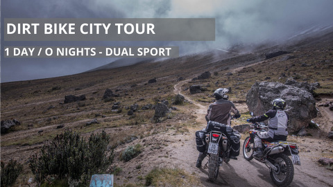 Self-Guided Dirt Bike City Tour