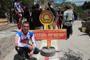 The Equator and Mitad del Mundo