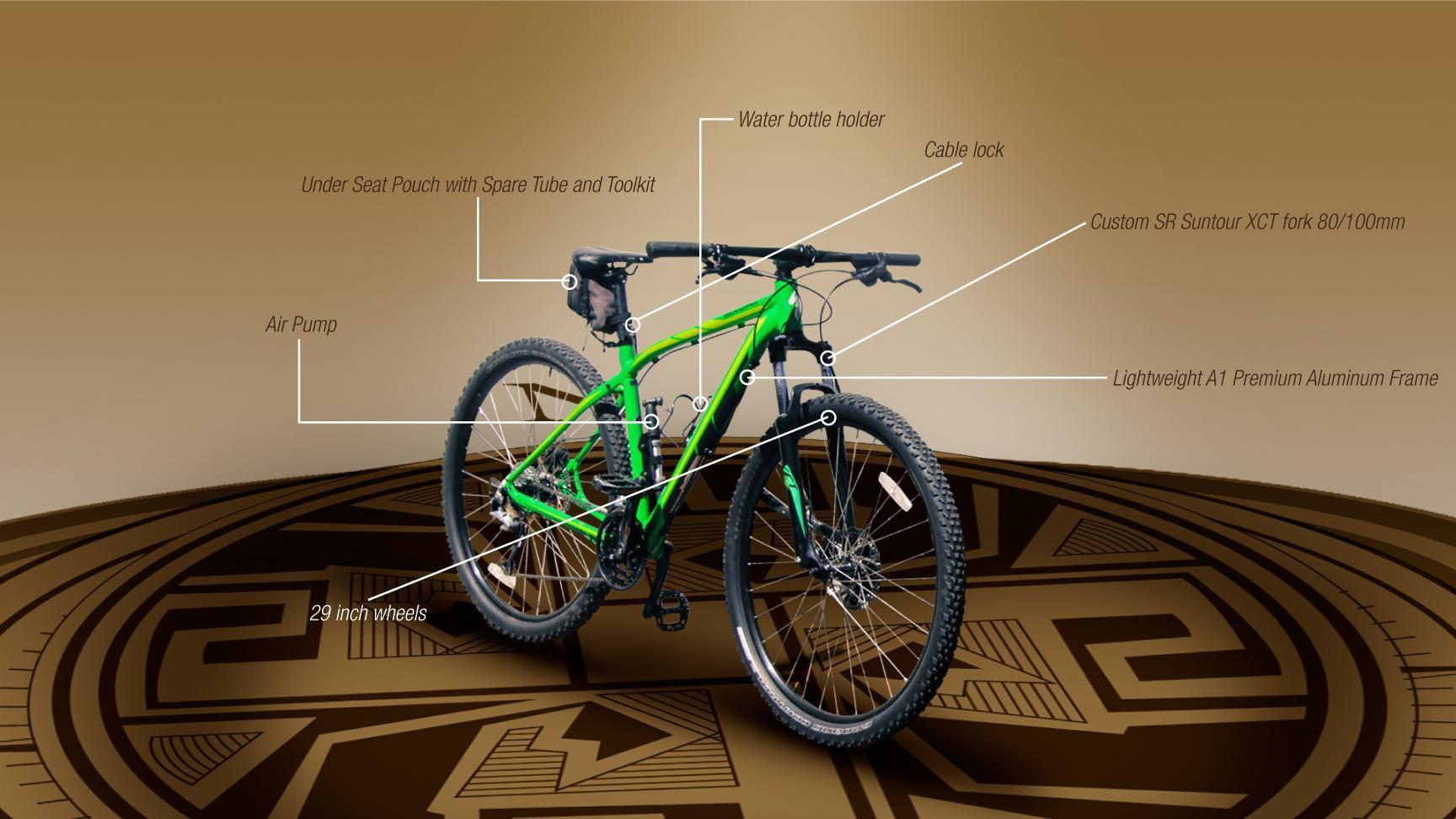 Specialized Rockhopper 29 by Ecuador Freedom Infographic