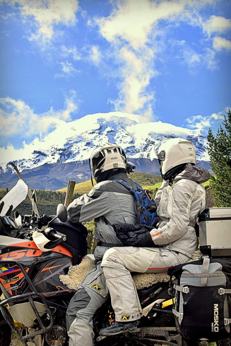 KTM 1050 Adventure at Chimborazo in Ecuador