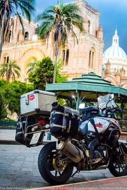 Adventure motorcycle in cuenca ecuador