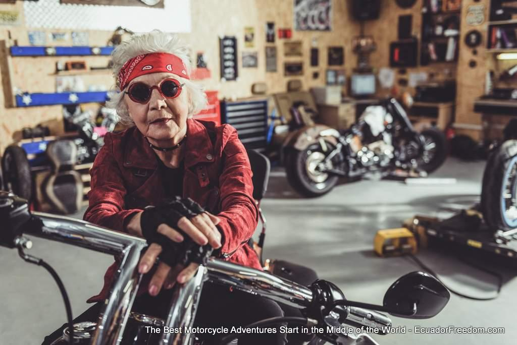 What My Great-Grandmother Taught Me about Adventure Motorcycling