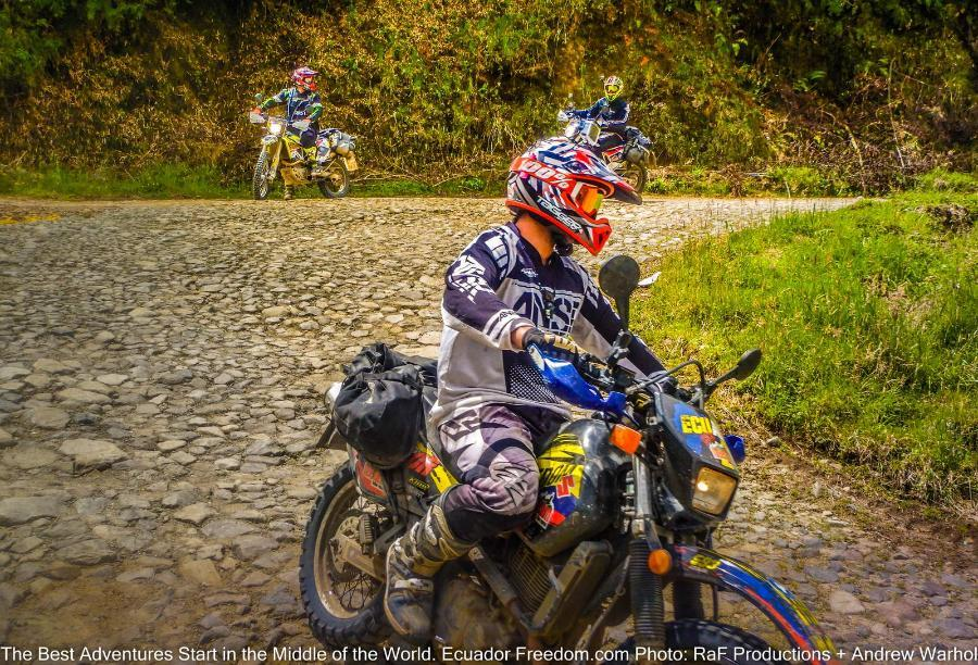 Getting in Shape for a Dual-Sport Motorcycle Adventure in Ecuador