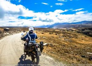 dirt road salinas de guaranda ecuador motorcycle adventure tour
