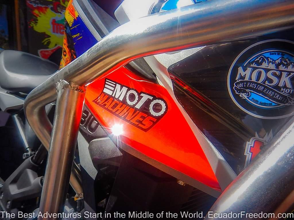 Ecuador Freedom Teams Up with Moto Machines