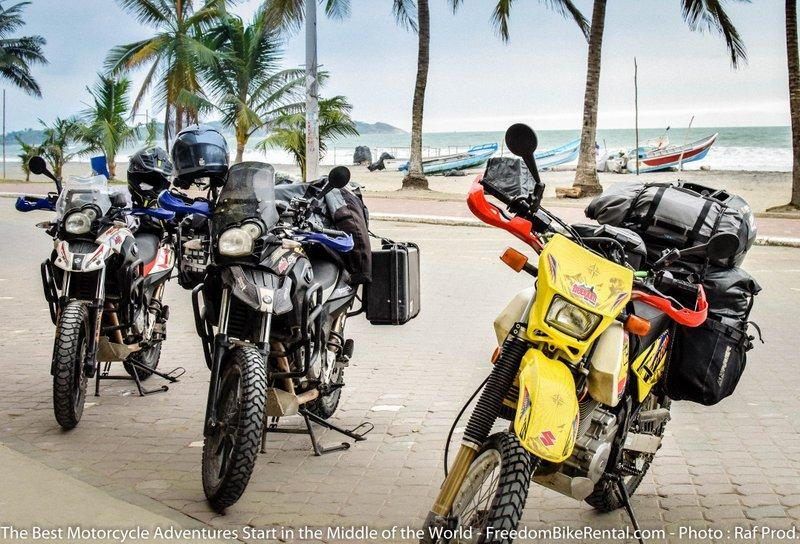 A Motorcyclist's Guide to Eating on the Coast of Ecuador