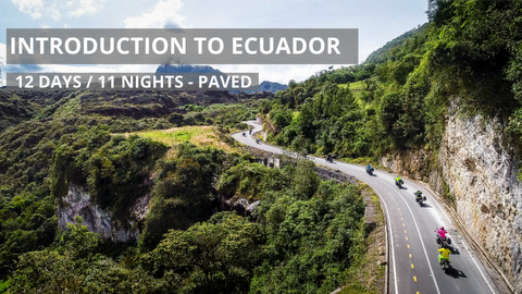 Guided Introduction to Ecuador - Motorcycle Tour