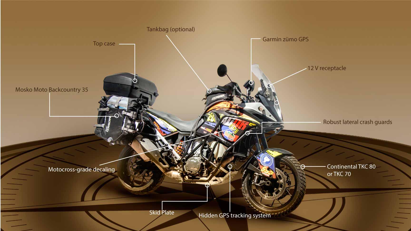 Motorcycle Adventure Tours Motorcycle & 4x4 Rental- Ecuador