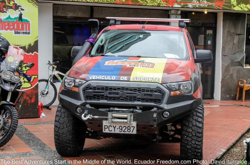 Ecuadort Freedom Support Truck