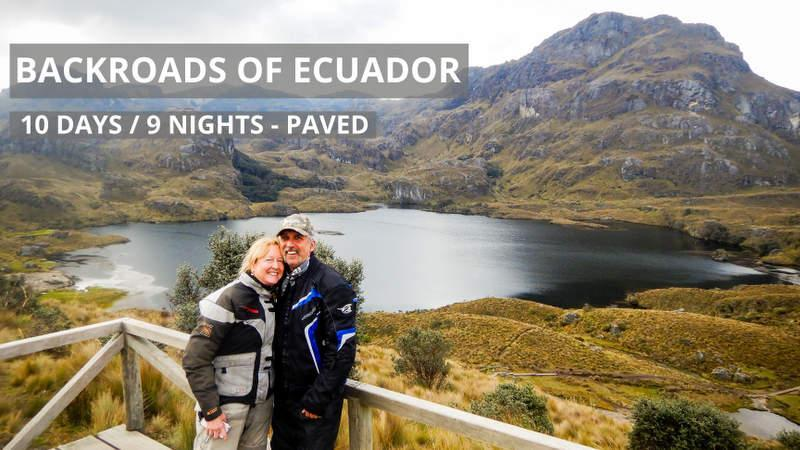 Guided Backroads of Ecuador Motorcycle Tour