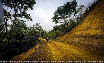Offroad pacific discovery route ecuador motorcycle 4x4 adventure tour