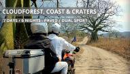 Self-Guided Cloudforest, Coast and Craters Dual-Sport Motorcycle Adventure Tour