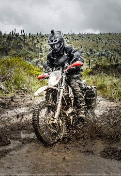 El Angel 3 001 Dirt Bike Adventure Tour Riding Ecuador