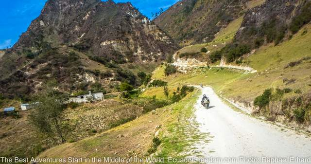 from isinlivi guingatanga pass ecuador freedom motorcycle advdenture tour