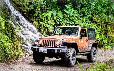 jeep on offroad ecuador excursion self guided tour 4x4 rental