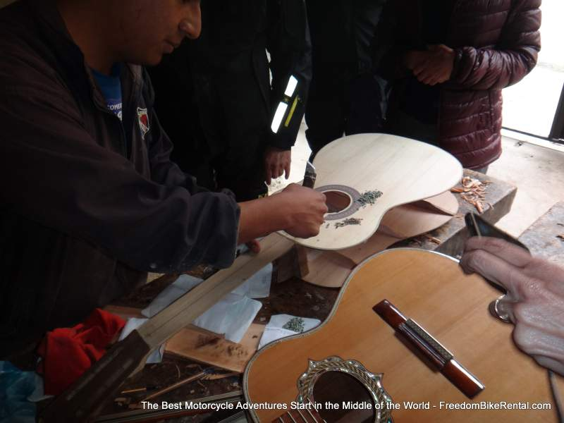 making a guitar