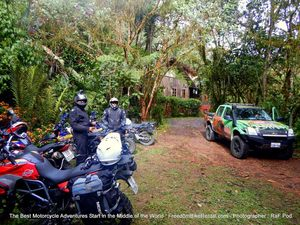septimo paraiso lodge cloudforest mindo dirt deluxe motorcycle adventure tour