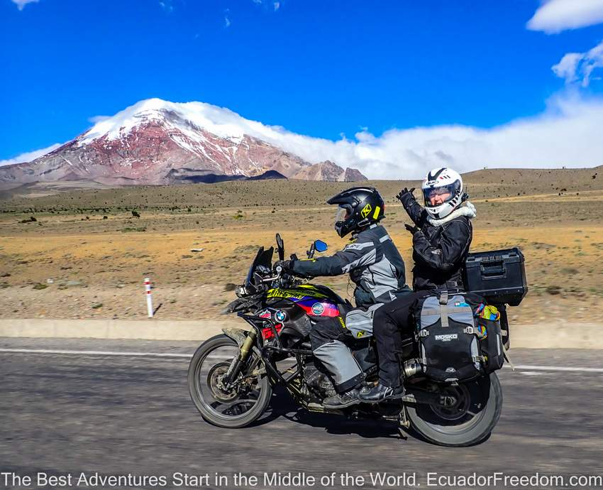 South America Motorcycle Adventures on a Budget