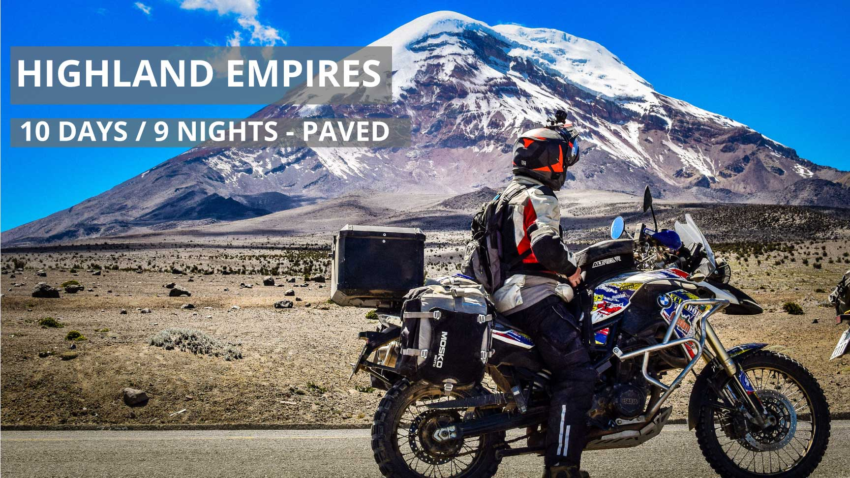 Highland Empires Self-Guided Motorcycle Adventure Tour