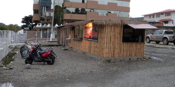 shack we started in cuenca ecuador freedom 2009