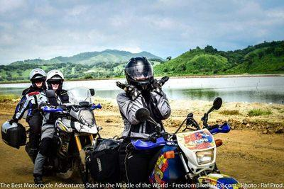 shrimp farms happiness motorcycle adventure