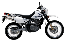 Suzuki DR650 for rent in Ecuador