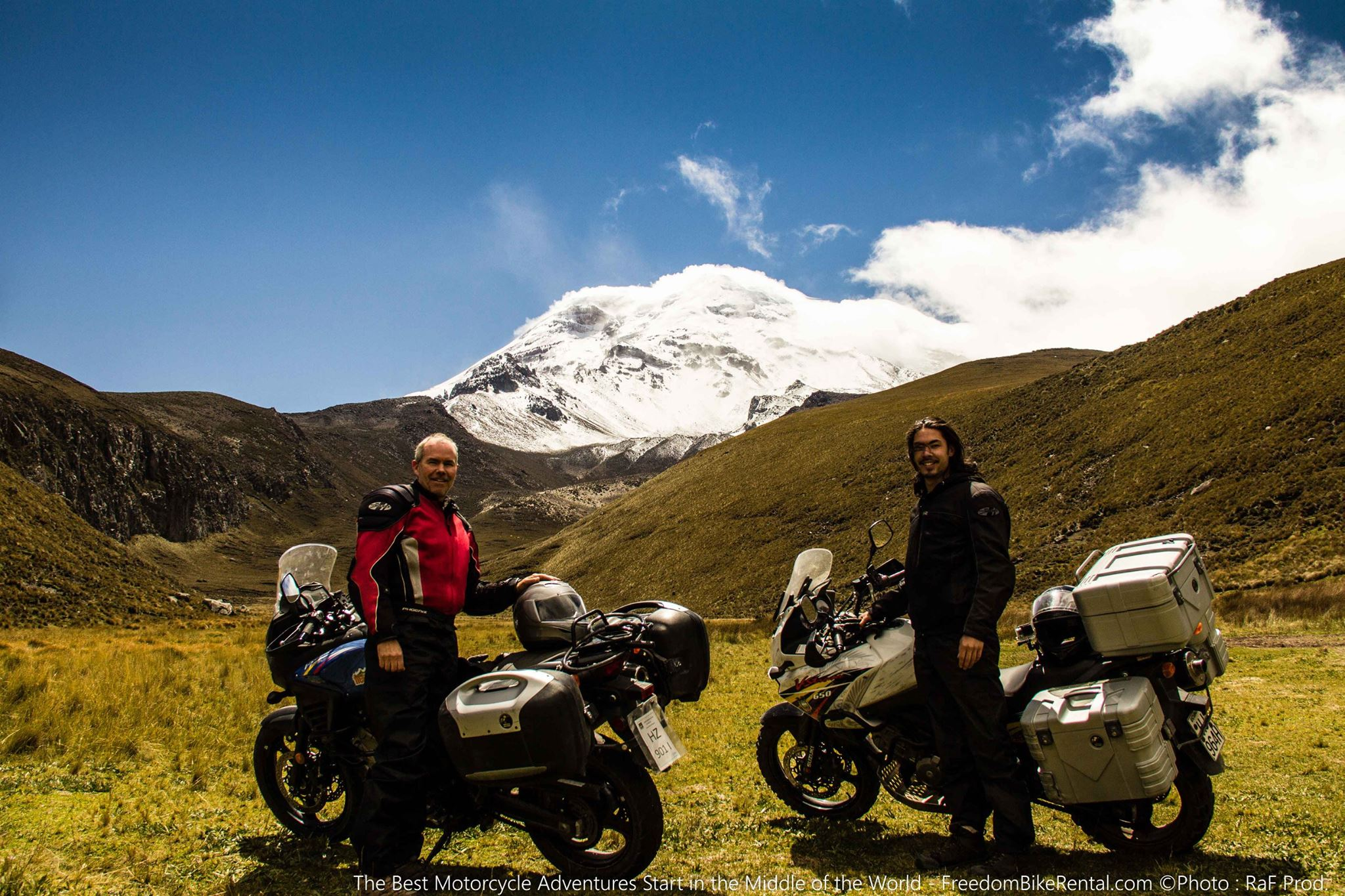 two vstroms at chimborazo